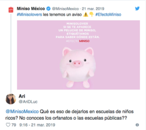 CAMPAÑA MINISO